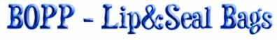 BOPP Lip & Seal