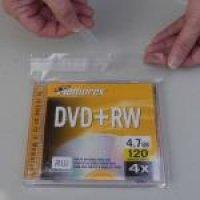 DVD size BOPP Lip & Seal bags (6x7.9) 500 bags